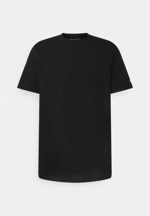 BASE  - Jednoduché triko - black/white