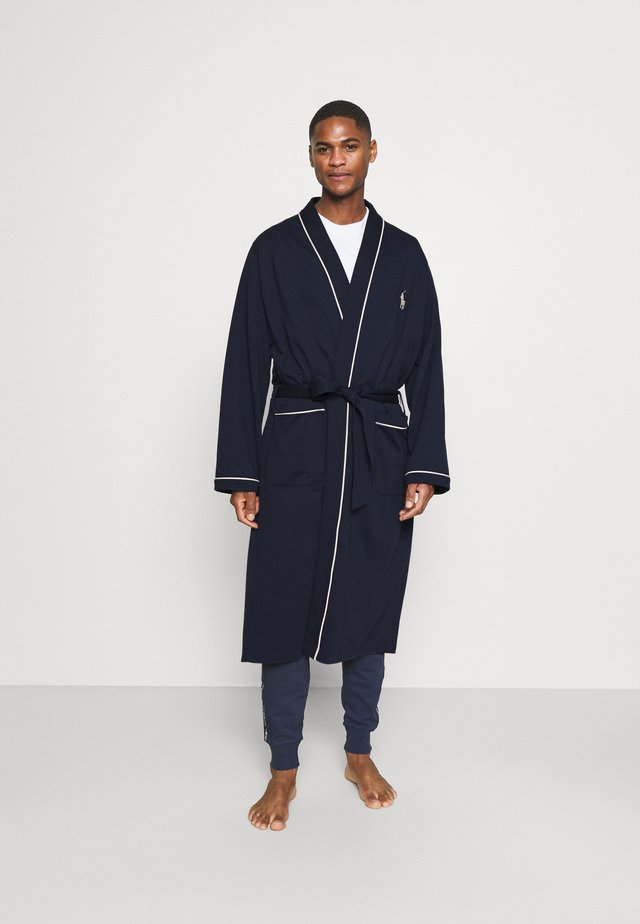 LOOP BACK - Dressing gown - cruise navy