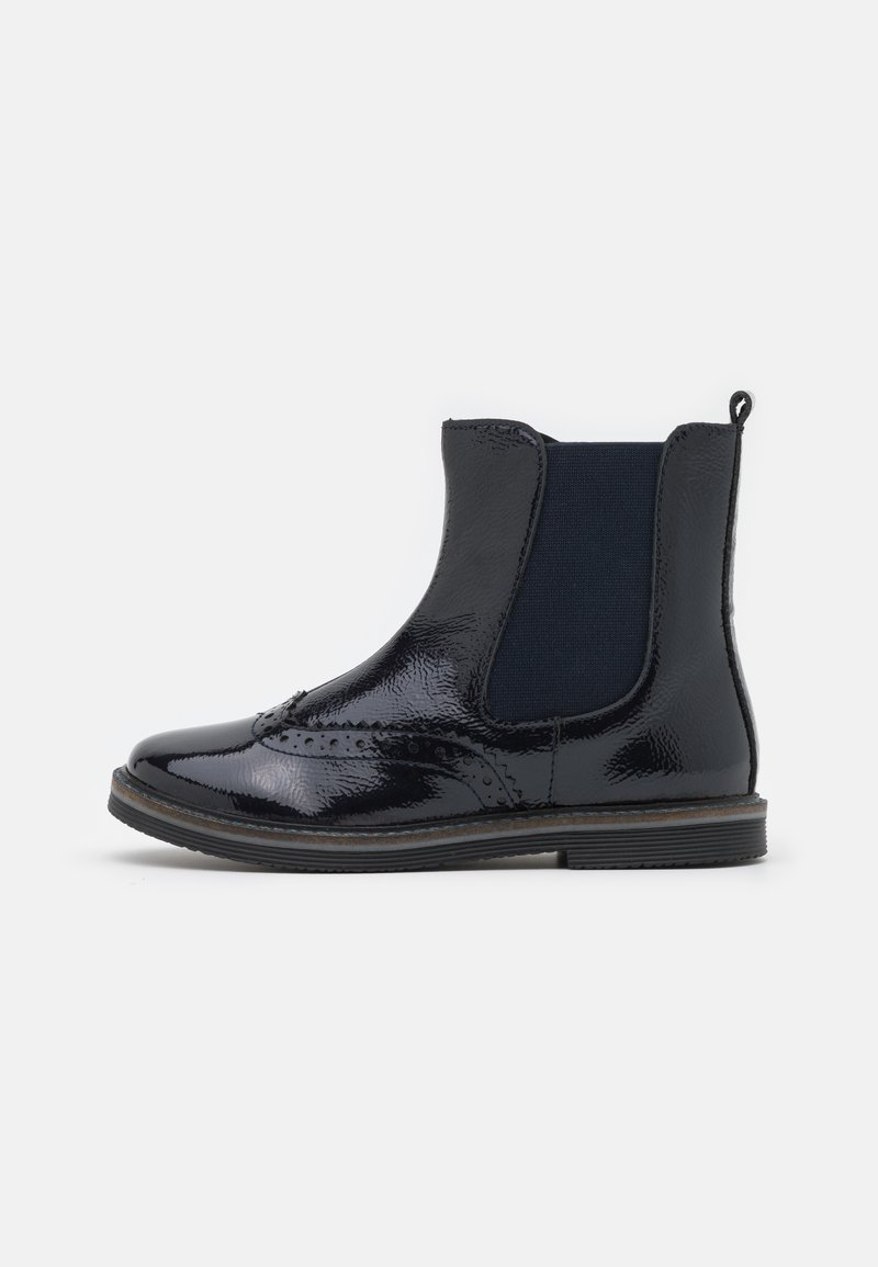Friboo - LEATHER - Classic ankle boots - dark blue