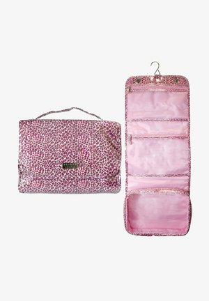 JUNGLE FOLDOUT WITH HOOK - Wash bag - pink