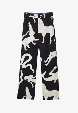 BY MIRANDA MAKAROFF - Trousers - black