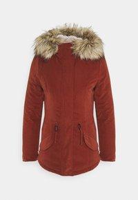 ONLY - ONLNEWLUCCA JACKET - Zimní kabát - fired brick - 4