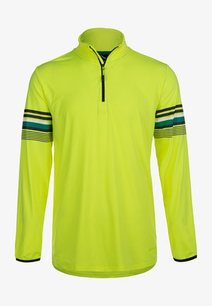Long sleeved top - safety yellow