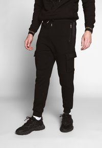 Glorious Gangsta - ALMA UTILITY - Pantalon de survêtement - black - 0