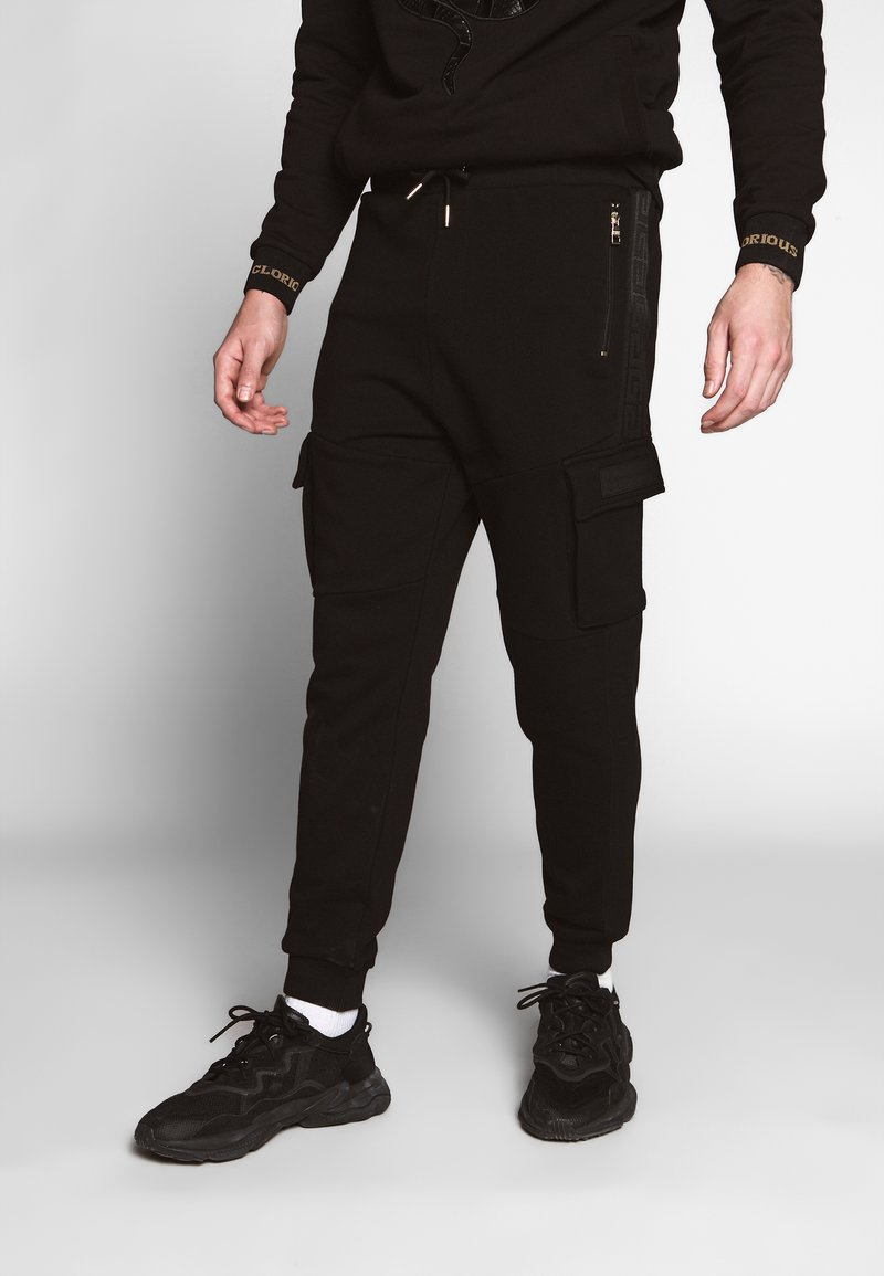 Glorious Gangsta - ALMA UTILITY - Pantalon de survêtement - black