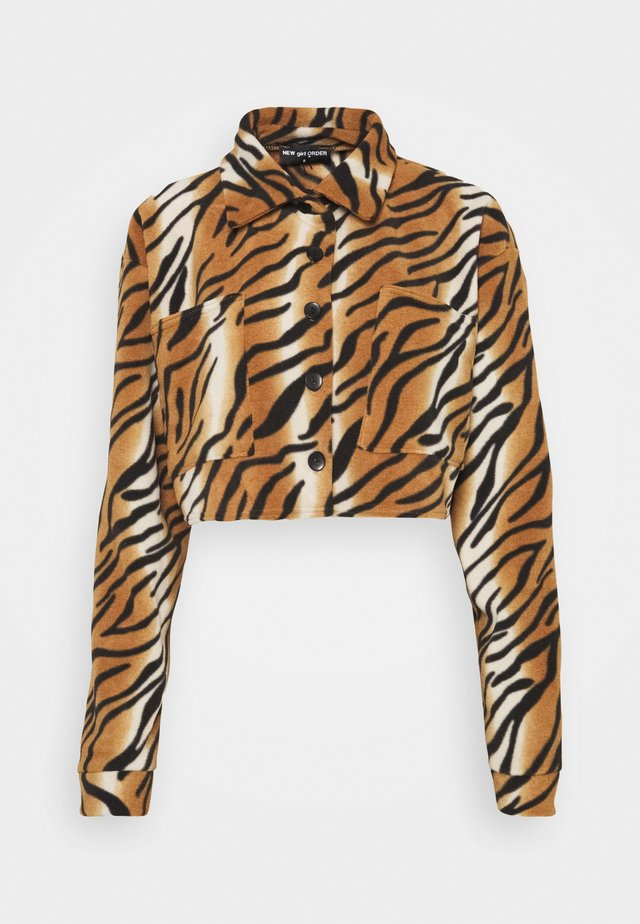 TIGER SHACKET - Giacca da mezza stagione - orange