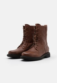 Shabbies Amsterdam - Lace-up ankle boots - cognac - 2