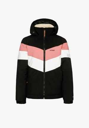 SNOW FUDGE 21 JR - Winter jacket - true black