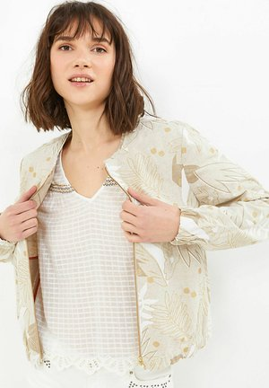 Summer jacket - imp feuilles