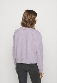 Levi's® - DIANA CREW - Sweatshirt - heather lavender frost garment - 4
