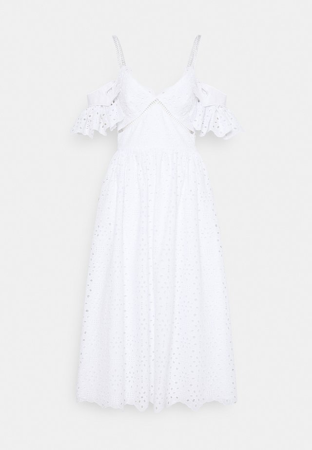 DRESS - Day dress - bianco