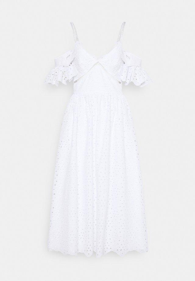 DRESS - Korte jurk - bianco