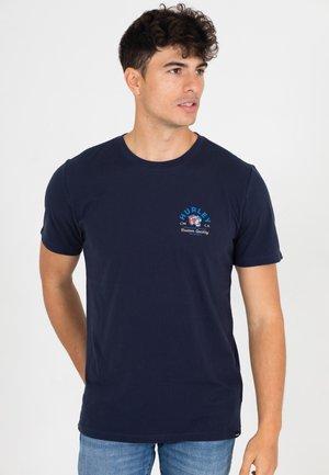 TIGER  - T-shirt print - obsidian