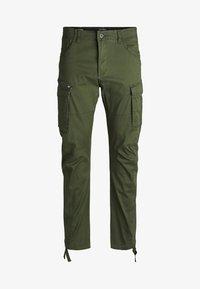 Jack & Jones - DRAKE CHOP AKM  - Cargo trousers - forest night - 6
