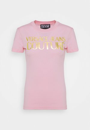 LADY  - T-shirt con stampa - pink confetti