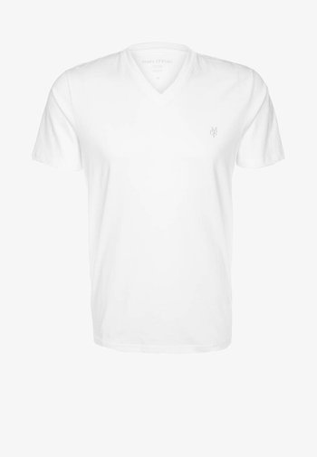 SCOTT SHAPED FIT - Basic T-shirt - white