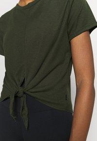 Cotton On Body - TIE UP  - Basic T-shirt - khaki - 5