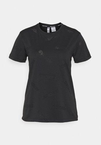 TEE - Funkční triko - black/white