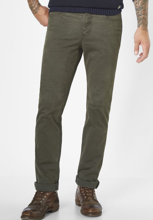 5-POCKET HOSE COLORED STRETCH RANGER - Slim fit jeans - olive