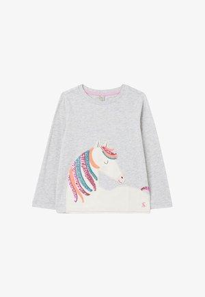 AVA - Sweatshirt - graue pferde mähne