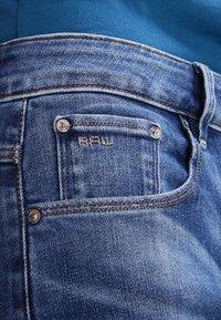 G-Star - 3301 HIGH SKINNY   - Jeans Skinny Fit - medium indigo aged - 4