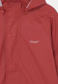 CeLaVi - BASIC RAINWEAR SOLID SET UNISEX - Kalhoty do deště - baked apple - 4