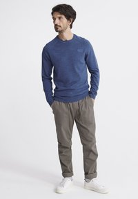 Superdry - ORANGE LABEL - Pullover - adriatic blue grindle - 1