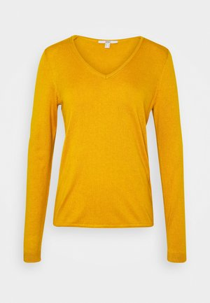 Jersey de punto - brass yellow