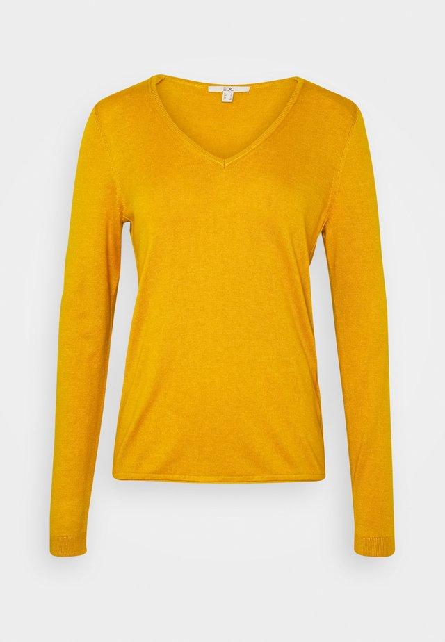 Pullover - brass yellow