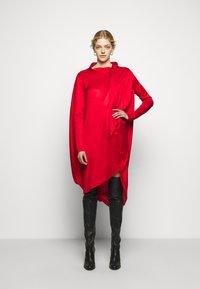 MM6 Maison Margiela - Jersey dress - red - 1