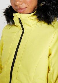 Ziener - TOYAH LADY - Ski jas - yellow power - 9