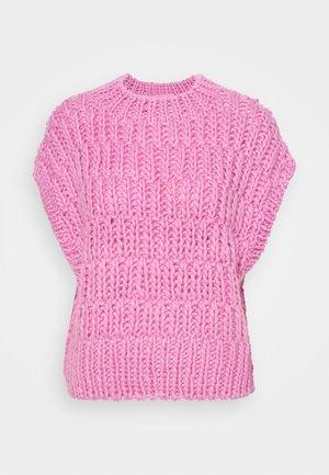 SLFPEARL KNIT VEST  - Strickpullover - prism pink