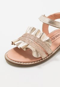 Friboo - LEATHER - Sandales - gold - 2
