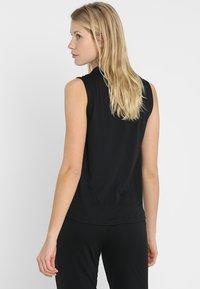 adidas Performance - MUST HAVES SPORT REGULAR FIT TANK TOP - Sports shirt - black - 2