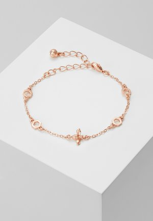 BEDDIA BUMBLE BEE CHAIN BRACELET - Pulsera - rose gold-coloured