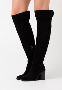 Tommy Hilfiger - MODERN BOOT - High heeled boots - black - 0