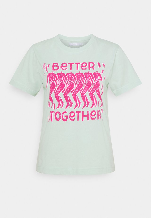 MYSEN BETTER TOGETHER  - Triko s potiskem - surf spray