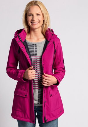 Outdoor jacket - dunkles mauve