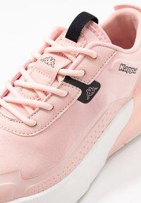 Kappa - DOOLIN - Sports shoes - rosé/black - 5
