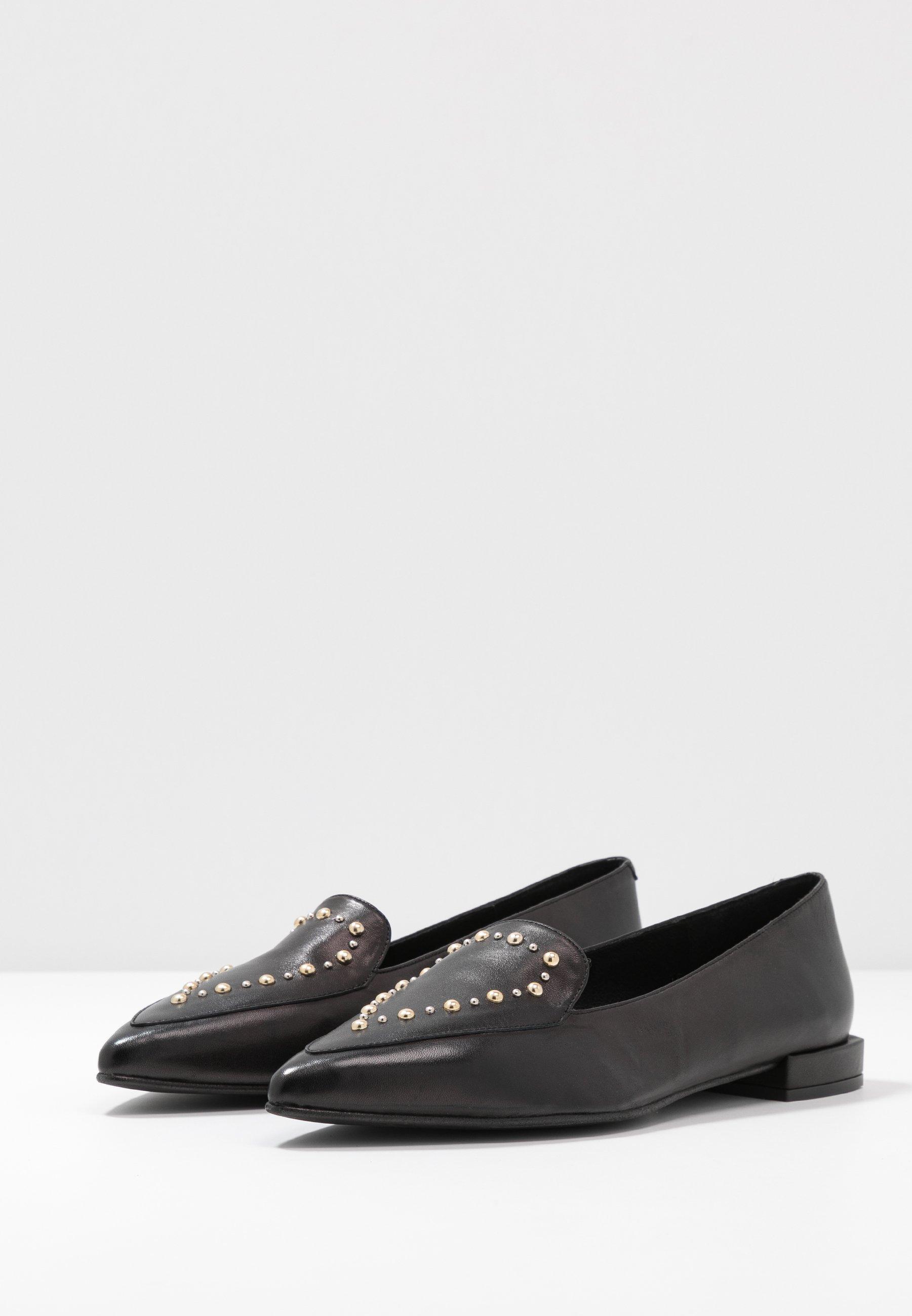 Perfetto Scarpe da Donna Copenhagen Shoes SUCCES STUDS Scarpe senza lacci black