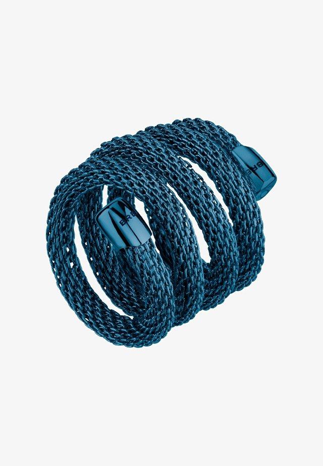 NEW SNAKE - Anello - blu