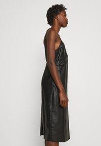 MM6 Maison Margiela - DRESS - Shift dress - black - 5