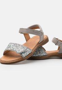 Froddo - LORE SPARKLE - Sandals - light grey - 5