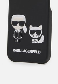 KARL LAGERFELD - CHOUPETTE CASE IPHONE 12 MINI - Phone case - black - 2
