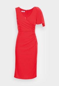 WAL G. - SIMI SLINKI MIDI DRESS - Cocktail dress / Party dress - red - 3