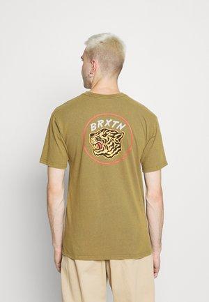 KIT - Print T-shirt - military olive