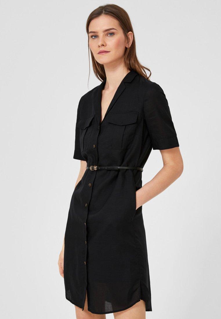 s.Oliver BLACK LABEL - Shirt dress - black