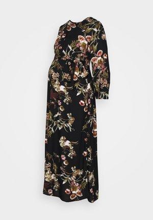 PCMBRENNA ANKEL DRESS  - Vestito estivo - black