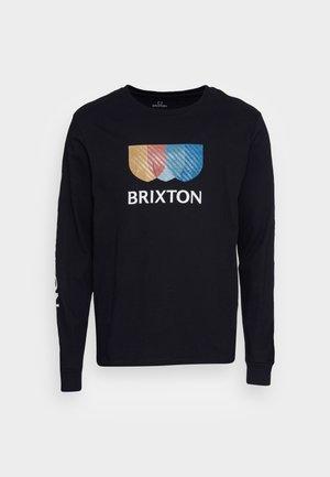 ALTON - Long sleeved top - black