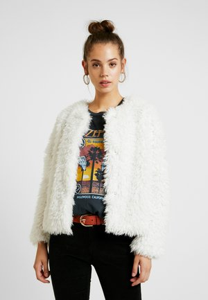 Bomber bunda - off-white